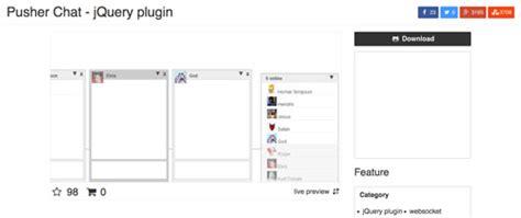 crear sala de chat jquery chat plugin opciones para crear salas de chat
