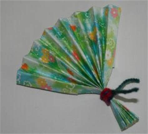 japanese paper fan craft japan crafts for