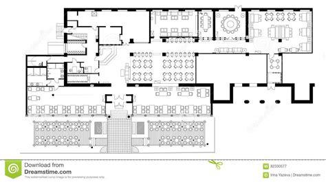 symbols used in floor plans standard cafe furniture symbols on floor plans stock