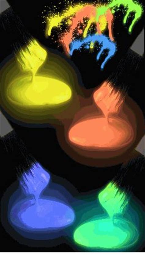 glow in the paint friend best 25 paint fight ideas on color fight a