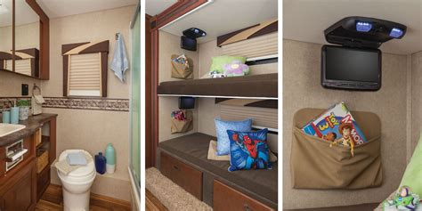 motorhome bunk beds motorhome floor plans with bunk beds
