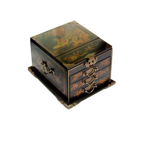 boite 224 bijoux avec miroir biseaut 233 magasin du meuble asiatique et chinois