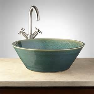 Pottery Vessel Sinks by 18 Quot Anya Ceramic Vessel Sink Bathroom