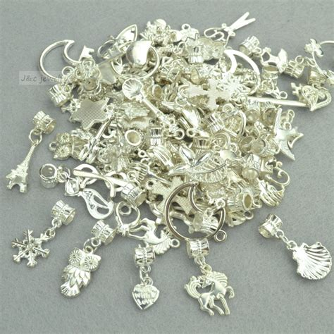 how to make metal jewelry charms new 50pcs mixed wholesale metal charms bright silver big