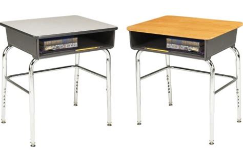 school desks 1100 adjustable open front school desks student desks