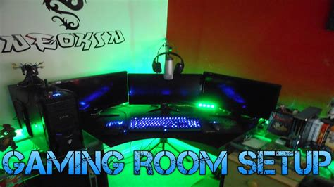 awesome gamer setups awesome gaming room setup 2013