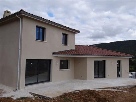maison neuve contemporaine avec sous sol 224 ch 226 teauneuf sur is 232 re construction de villa