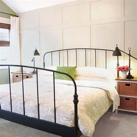 building bedroom furniture faux paneled accent wall 27 ways to build your own