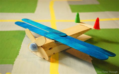 aeroplane craft for clothes peg planes craft one time through