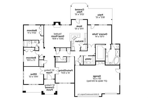 prairie style floor plans prairie style house plans creekstone 30 708 associated designs