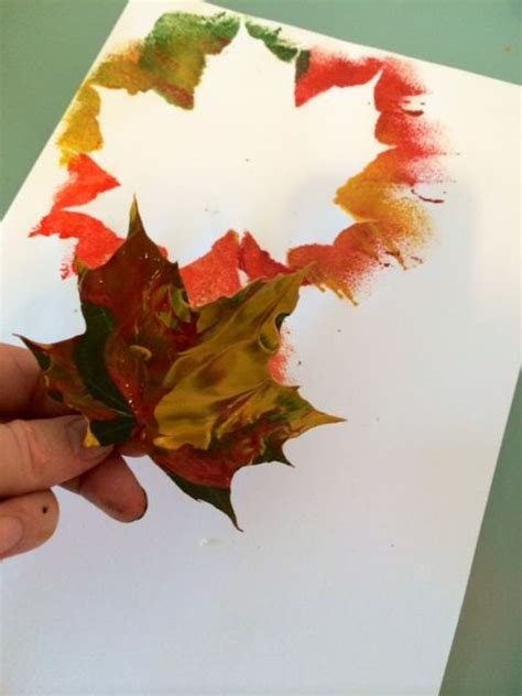 leaf craft projects 25 unique autumn crafts ideas on autumn