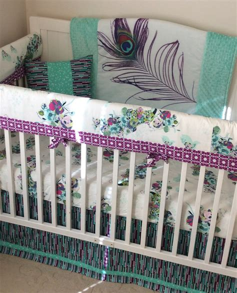 teal crib bedding sets purple and teal baby bedding 28 images crib bedding