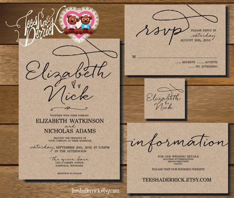 how to make a wedding invitation card wedding invitations and rsvp cards theruntime