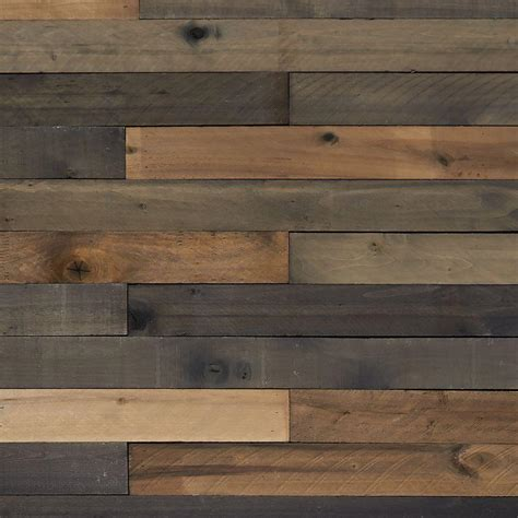 1 2 In X 4 In X 4 Ft Weathered Hardwood Board 8 Piece