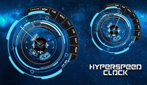 futuristic clock futuristic clock hyperspeed clock for xwidget by jimking