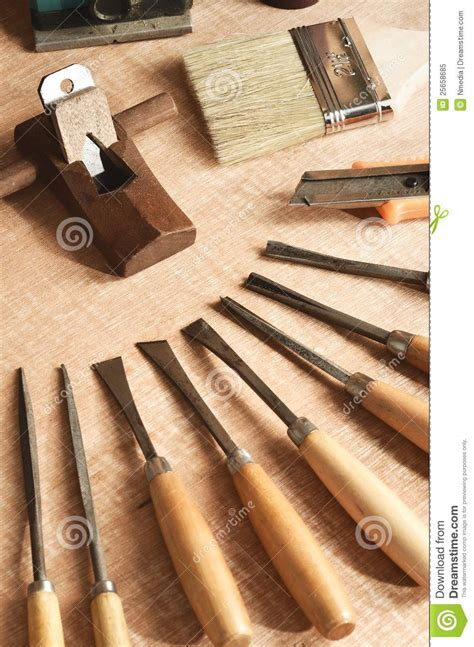 free woodworking tools wood working tools 01 stock image image of sculpting