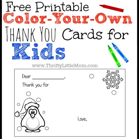 make your own printable card free make your own thank you cards for just b cause