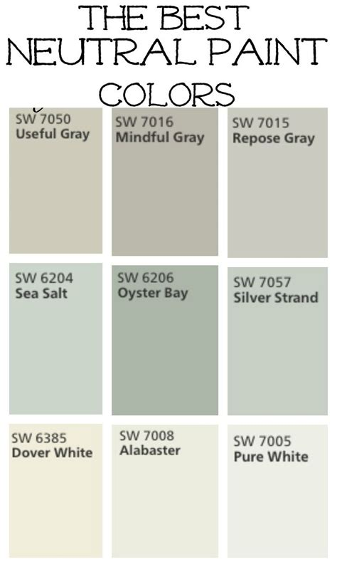neutral wall colors 25 best wall colors ideas on wall paint