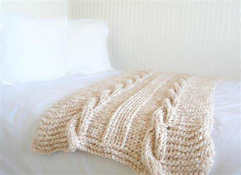 knitting patterns for larger endless cables knit throw pattern favecrafts