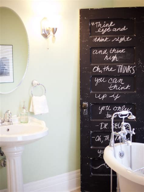 ideas to paint a bathroom transform your bathroom with diy decor hgtv