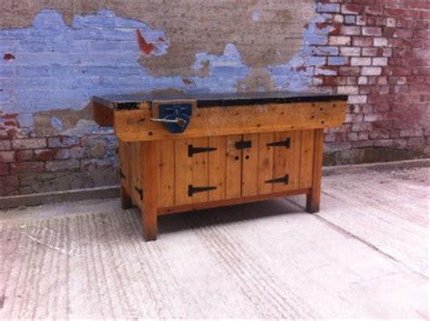 school woodwork bench reclaimed vintage school woodworking carpenters joiners
