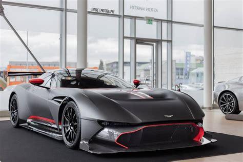 Matte Black Aston Martin by Matte Black Aston Martin Vulcan Looks Meaaan