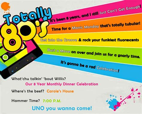 Design Your Own House Game 80s party invitations theruntime com