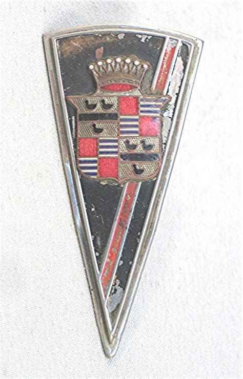Cadillac Badge by Cadillac Car Badge Classic Car Design Classic Car Art