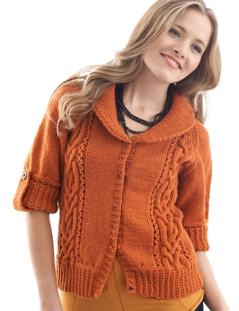 patons free knitting patterns cardigans patons cables and collar cardigan knit pattern