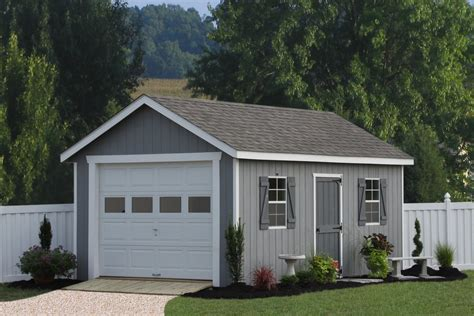 single car garage single car garages from sheds unlimited