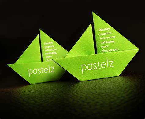 cool origami cards origami business card cardobserver
