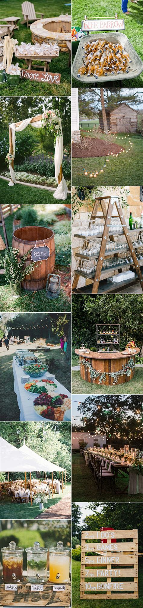 country backyard wedding ideas 20 great backyard wedding ideas that inspire oh best day