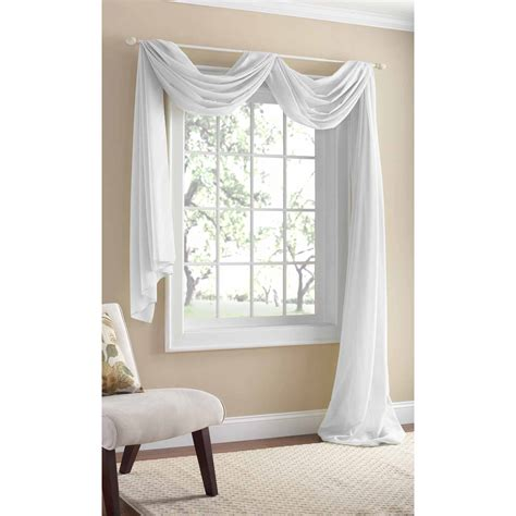 Dining Room Drapery Ideas better homes and gardens canopy crushed voile drapery