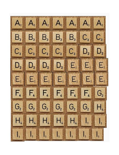 printable scrabble tutorial printables faux scrabble letters print
