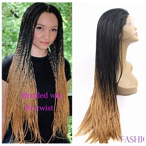 micro braids ombre hair popular braided lace front wigs buy cheap braided lace