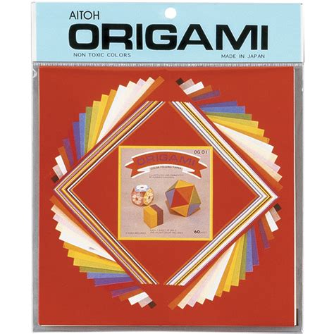 origami paper sizes origami paper assorted sizes small mix 60 pkg