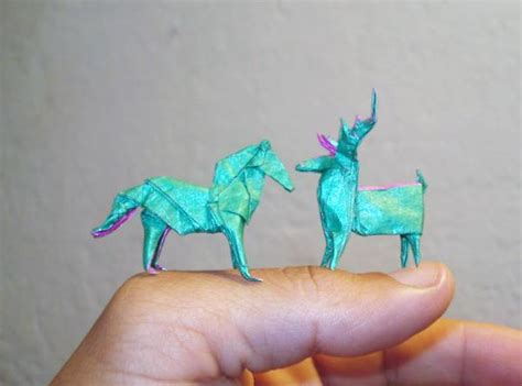 mini origami marvellous origami miniatures folded by different origami