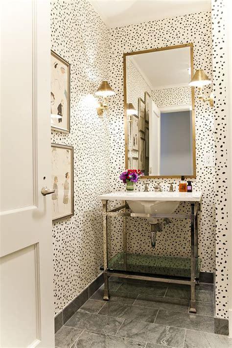 wallpaper in bathroom ideas small powder room ideas interiors
