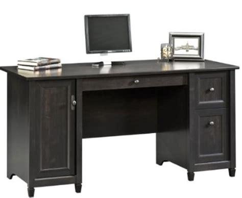 sauder edge water executive desk sauder edge water executive desk estate black home