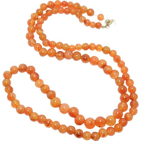 restringing necklace carnelian agate necklace to restring from