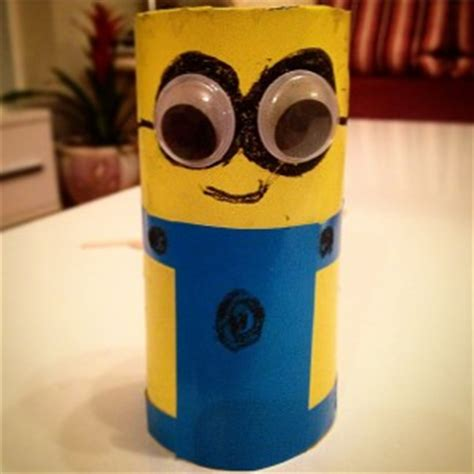 minion toilet paper roll craft minions craft idea for crafts and worksheets for