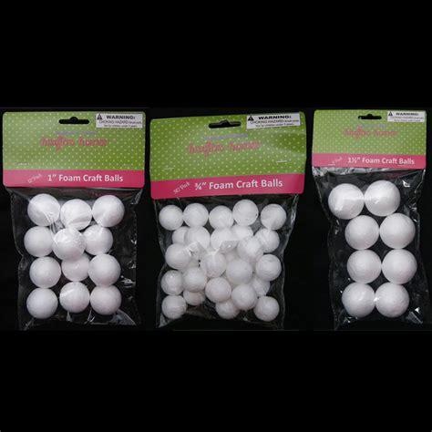 styrofoam craft projects 50 foam polystyrene craft styro white balls project
