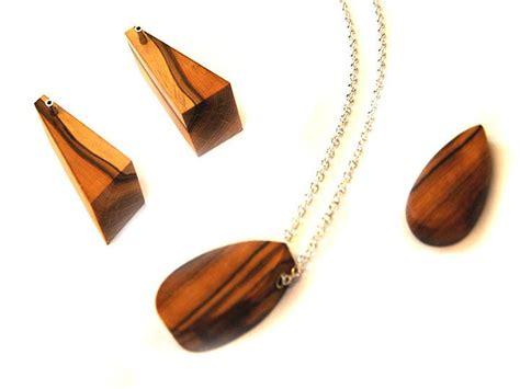 wood jewelry the 13 best images about wood jewellery on