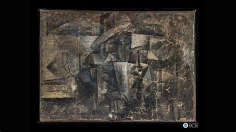 picasso paintings found stolen picasso painting returned after 14 years cnn