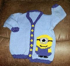 Ravelry Minion Sweater Pattern By Tammy Mansfield