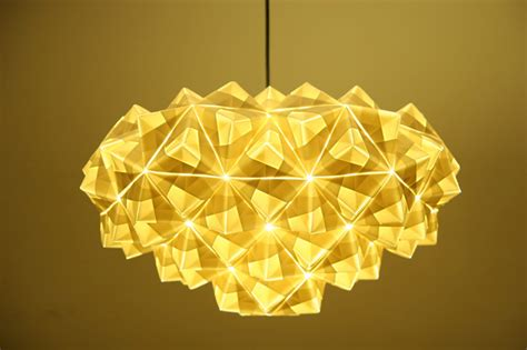 origami lights foldability to unveil gorgeous origami pendant ls at