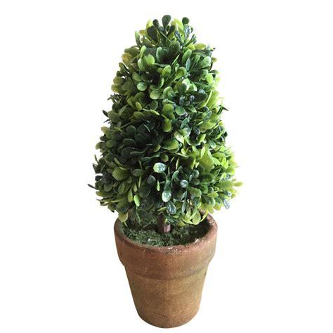 mini potted plants green home garden decor rustic mini artificial plants