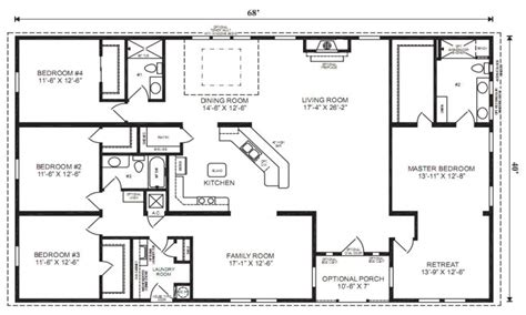 5 bedroom mobile homes floor plans mobile modular home floor plans wide mobile homes