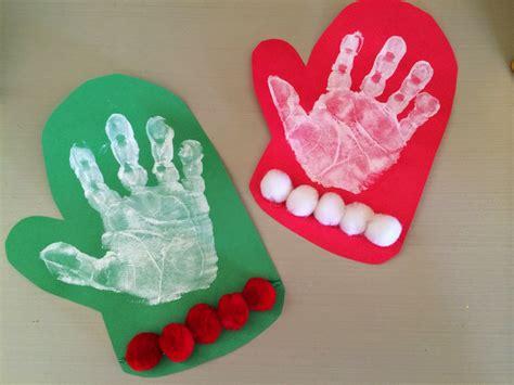 mitten crafts for handprint footprint crafts footprint crafts