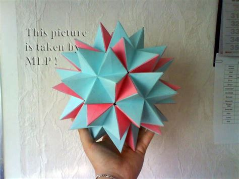 origami spike easy color origami